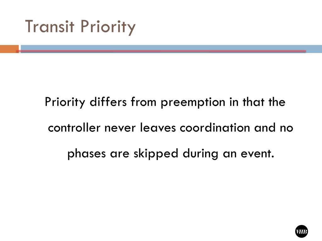 Transit Priority