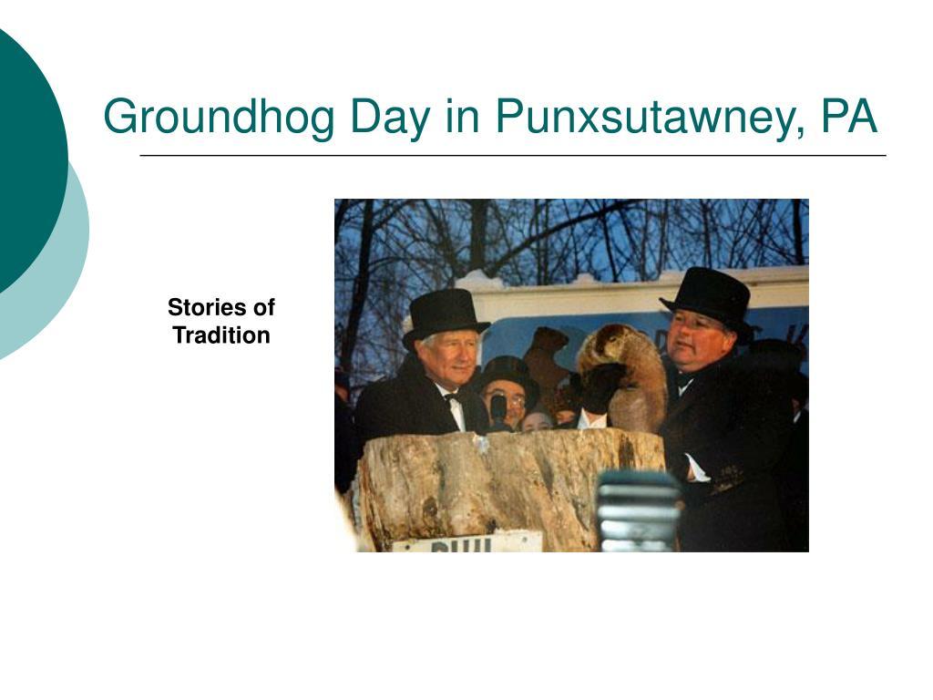 Groundhog Day in Punxsutawney, PA