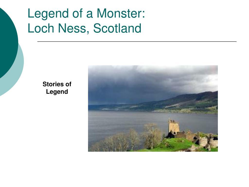 Legend of a Monster: