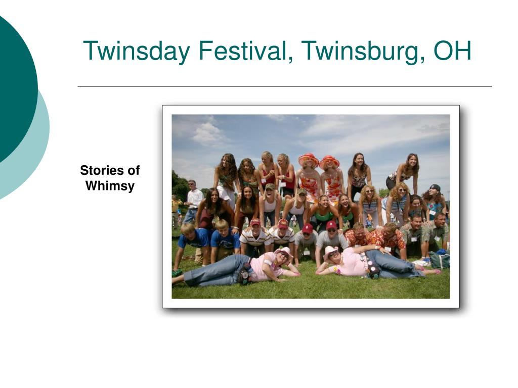 Twinsday Festival, Twinsburg, OH