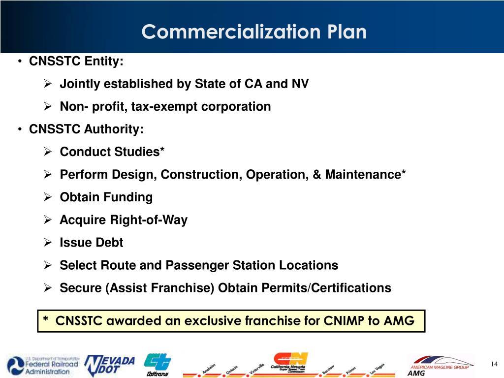 Commercialization Plan