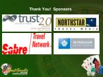 thank you sponsors33