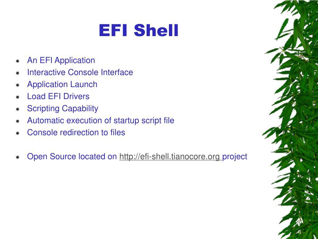 EFI Shell