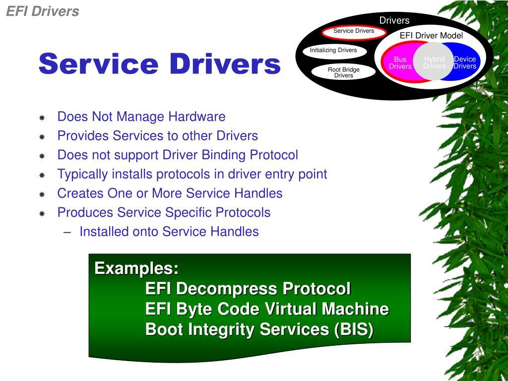 EFI Drivers