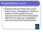 responsibilities cont9