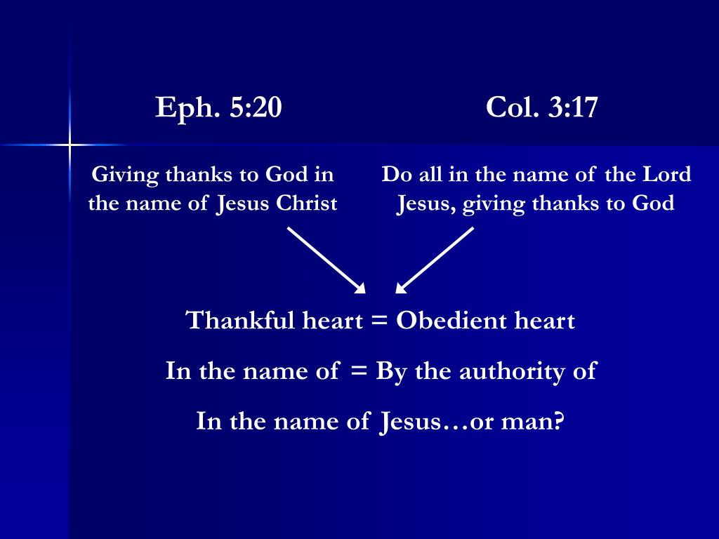 Eph. 5:20