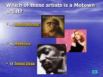 which of these artists is a motown artist