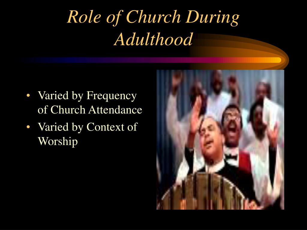 Varied by Frequency of Church Attendance