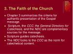 3 the faith of the church