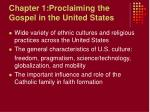 chapter 1 proclaiming the gospel in the united states
