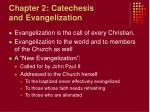 chapter 2 catechesis and evangelization