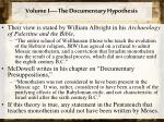 volume i the documentary hypothesis3