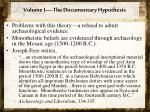 volume i the documentary hypothesis4