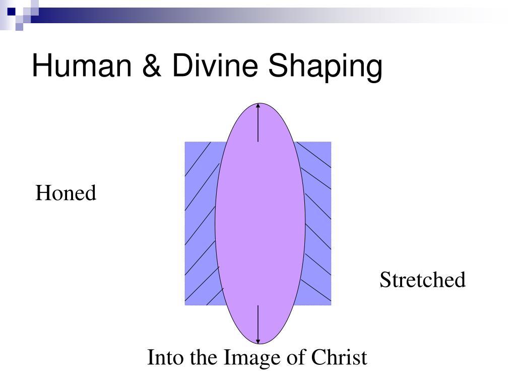 Human & Divine Shaping