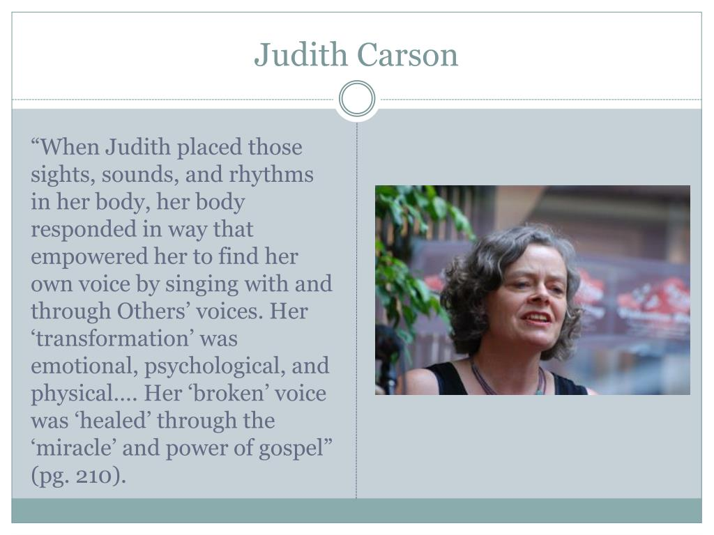 Judith Carson