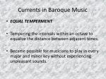 currents in baroque music18