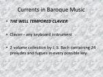 currents in baroque music19
