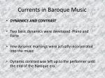 currents in baroque music21