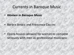 currents in baroque music25