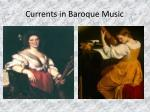 currents in baroque music26