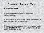 currents in baroque music27
