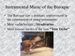instrumental music of the baroque78