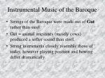 instrumental music of the baroque79