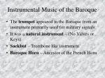 instrumental music of the baroque83