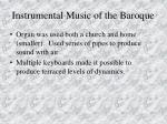 instrumental music of the baroque86