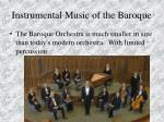 instrumental music of the baroque92