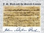 j s bach and the sacred cantata60