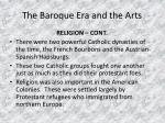 the baroque era and the arts6