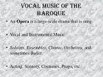 vocal music of the baroque29