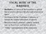 vocal music of the baroque31