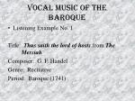 vocal music of the baroque32
