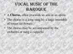 vocal music of the baroque35