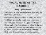 vocal music of the baroque42