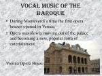 vocal music of the baroque43