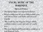 vocal music of the baroque44
