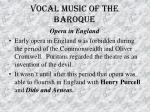 vocal music of the baroque45