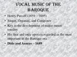 vocal music of the baroque46