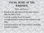 vocal music of the baroque47