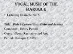 vocal music of the baroque48