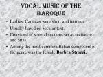 vocal music of the baroque51