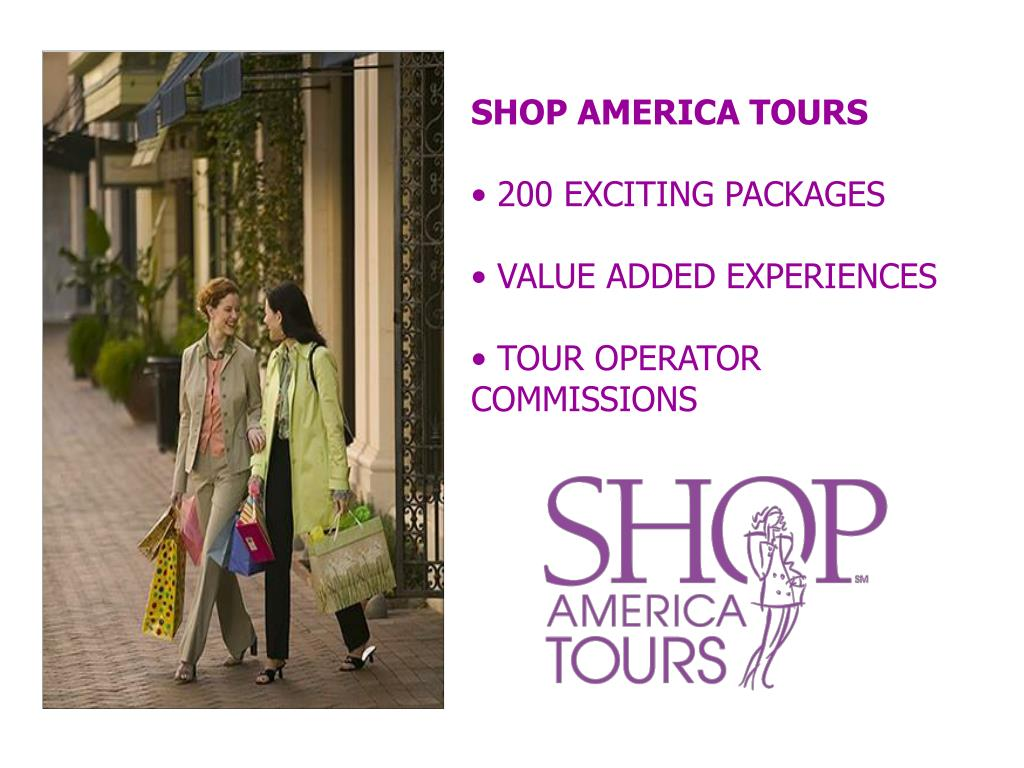 SHOP AMERICA TOURS