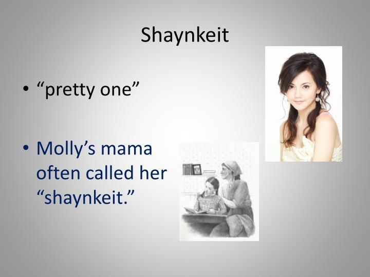 Shaynkeit