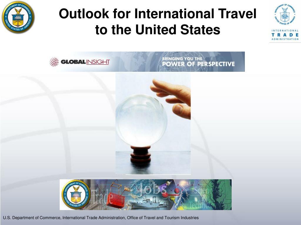 Outlook for International Travel