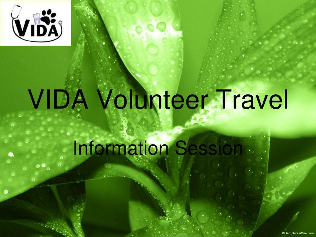 vida volunteer travel l.