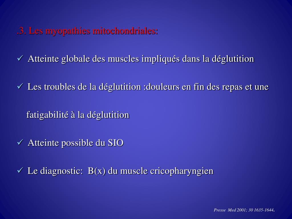 PPT - TROUBLES MOTEURS DE L'ŒSOPHAGE CERVICAL PowerPoint ...