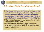 3 5 what state for what regulation